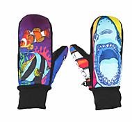 Cartoon Ski Gloves