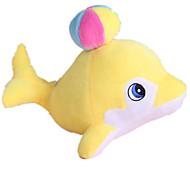 Dog Toy Pet Toys Plush Toy Durable Blue / Pink / Yellow Cotton