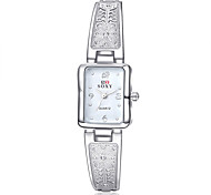 Women's Fashion Watch / Bracelet Watch Quartz Water Resistant/Water Proof Alloy Band Charm / Casual Silver / Gold Brand