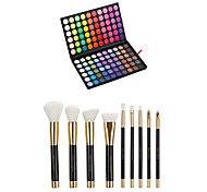 120 Concealer/Contour+Shadow+Lip Gloss+Makeup Brushes Wet Eyes / Face / Lips Coverage / Concealer China Others