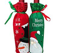 1 Stück Weihnachtsweinflasche Weinflasche Tasche