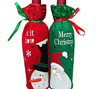 1pç saco de garrafa de vinho garrafa de vinho natal
