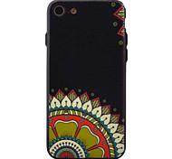 Para Diseños Funda Cubierta Trasera Funda Flor Dura Acrílico para Apple iPhone 7 Plus / iPhone 7 / iPhone 6s Plus/6 Plus / iPhone 6s/6