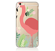 Flamingo  Pattern TPU Soft Case Cover for Apple iPhone 7 7 Plus iPhone 6 6 Plus iPhone 5 SE 5C iPhone 4