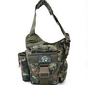 15 L Waist Bag/Waistpack Sling & Messenger Bag Shoulder Bag Leisure Sports Cycling/Bike Camping & Hiking Waterproof Breathable Shockproof