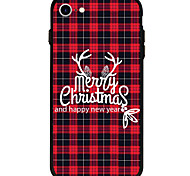 For iPhone 7 Case iPhone 6 Case iPhone 5 Case Case Cover Pattern Back Cover Case Christmas Soft Acrylic for AppleiPhone 7 Plus iPhone 7