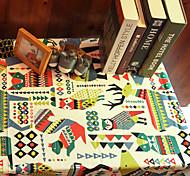 Christmas table cloth / animal pattern 140*200cm