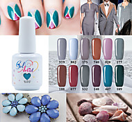 Gel Polish Gray Color Gel Nail Polish UV&LED Lamp Gel Salon Gel