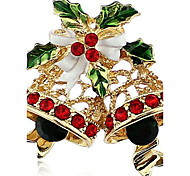 Exquisite Christmas bell Brooch