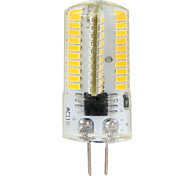 4W G4 LED-maïslampen T 80 SMD 3014 380 lm Warm wit / Koel wit Dimbaar / Decoratief AC 220-240 / AC 110-130 V 2 stuks