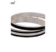 Brand 2pcs Each Set Newest Simple Fashion Black/White/Silver Stainless Steel Bracelet For Christmas Gift BL152458