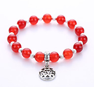 2016 The New Europe And The United States Fashion Jewelry Available Natural Agate Alloy Pendant Bracelet