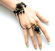 Lolita Jewelry Gothic Lolita Bracelet/Bangle Lolita Lolita Accessories Bracelet Ring Lace For Lace Satin Alloy