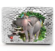 3D Elephant Pattern MacBook Computer Case For MacBook Air11/13 Pro13/15 Pro with Retina13/15 MacBook12