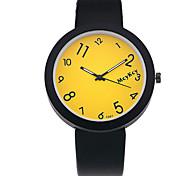 XU Men Fashion Leisure Digital Jelly Multicolor Couples Watch