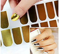 3pcs Nail Art Sticker Adesivi 3D unghie makeup Cosmetic Nail Art Design