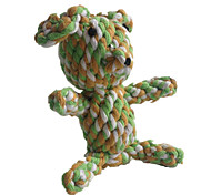 Cat Toy Dog Toy Pet Toys Chew Toy Teeth Cleaning Toy Rope Pig Woven Textile