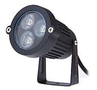 3w conduziu lâmpada AC85-265V gramado ao ar livre lâmpada de inserção pequeno triângulo