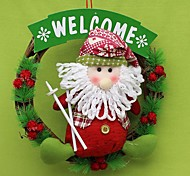 Creative Christmas Wreath Christmas Ornaments Accessories