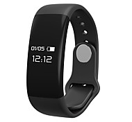CARDMISHA Y12  Smart Wristband OLED Display Bluetooth 4.0 Heart Rate Monitor Sleep Tracker for Android IOS
