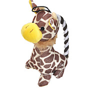 Dog Toy Pet Toys Plush Toy / Squeaking Toy Squeak / Squeaking / Durable Brown Cotton
