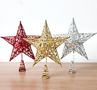 1Pcs Color Random Christmas Decoration Gifts Role Ofing Christmas Tree Ornaments Christmas Gift The Christmas Star