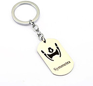 Inspired by Symmetra Overwatch  Anime Cosplay Accessories Keychain Silver Alloy