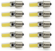 9W Dimmable LED Bulb E17 Silicone Sapphire Cob AC110V 120V 350Lm Warm /Cool White (10 Pieces)