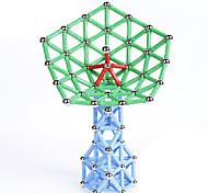 Jouets Aimantés 47 Pièces MM Jouets Aimantés Nouveautés Gadgets de Bureau Casse-tête Cube Pour cadeau