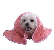 Gato / Cachorro Saúde / Limpeza Animais de Estimação Mantas Portátil / Dobrável / Macio / Desenhos Animados / Fofo / CasualVermelho /