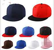 The new flat along the hat Hip-hop cap plate cap Cap baseball cap canvas Breathable / Comfortable Unisex BaseballSports