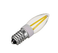 3W E14 Bombillas LED de Mazorca 4 COB 300 lm Blanco Cálido / Blanco Fresco Regulable V 1 pieza