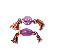 Dog Pet Toys Teeth Cleaning Toy Rope Multicolor Rubber
