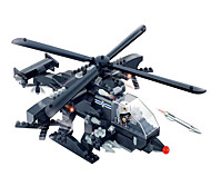 Action Figures & Stuffed Animals / Building Blocks For Gift  Building Blocks Model & Building Toy Tank / Fighter / Helicopter ABS5 to 7
