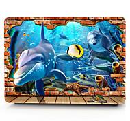 3d подводный мир модели MacBook корпус компьютера для Macbook air11 / 13 pro13 / 15 Pro с retina13 / 15 macbook12