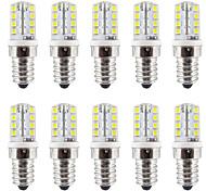 2W E14 2-pins LED-lampen T 32 SMD 2835 210-230 lm Warm wit / Koel wit Waterbestendig AC110 / AC220 V 10 stuks