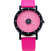 XU Men Fashion Candy Color Flash Powder Surface Watch