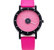 XU Men Fashion Candy Color Flash Powder Surface Watch