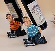 Garrafeira Madeira,13*9*17.5CM Vinho Acessórios