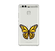 For Huawei P9 P9 Lite  P8 P8lite Pattern Case Back Cover Case Butterfly Soft TPU for P9 Plus P9 Mini Max P7 Honor 6 Honor 6 Plus Honor 4C