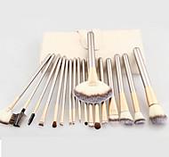 Makeup Brushing Brush Set 18 pcs Soft Synthetic Professional Cosmetic Makeup Foundation Powder Blush Eyeliner Brushes