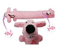 Dog Pet Toys Squeaking Toy Squeak / Squeaking / Dog Pink Cotton