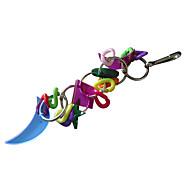 Multi-Color Portable Metal Plastic Bird Toys 1pc