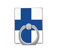 флаг плавкого пальто пластиковый держатель кольца / 360 вращающийся для мобильного телефона iphone 8 7 samsung galaxy s8 s7