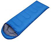 Спальный мешок Прямоугольный Односпальный комплект (Ш 150 x Д 200 см) 10 Пористый хлопок 460g 180X30Пешеходный туризм / Походы /