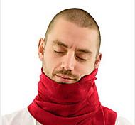 Подушка для путешествий Воздухопроницаемость Без статического электричества Антибактериальный для Отдых в дорогеЧерный Серый Красный