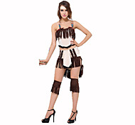 Indian Festival/Holiday Costumes Headwear / Top / Skirt / Leg Warmers Female Polyester
