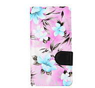 For LG LG K10 / LG K8 / LG K4 / LG G3 Mini Flowers PU Leather Case