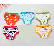 Dog Pants / Vest Multicolor Dog Clothes Winter / Summer / Spring/Fall Cartoon Cute / Casual/Daily