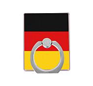 флаг германии узор пластиковый держатель кольца / 360 вращающийся для мобильного телефона iphone 8 7 samsung galaxy s8 s7